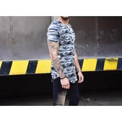 Army tričko se zipy