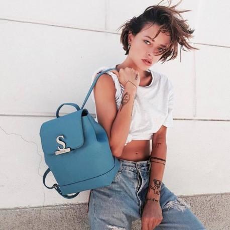 Luxusní kožený baťoh  Mia Bag