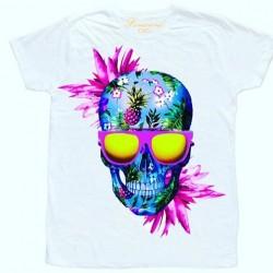 Tričko s Hawai lebkou