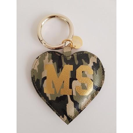 Přívěsek Mia Bag - srdíčko - maskáčové MS