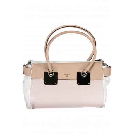 Dámská kabelka GUESS -BLUSH_MULTI - bílá, menší