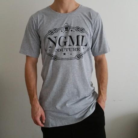 Pánské (unisex) luxusní tričko NGML šedé 22ff52c4ef