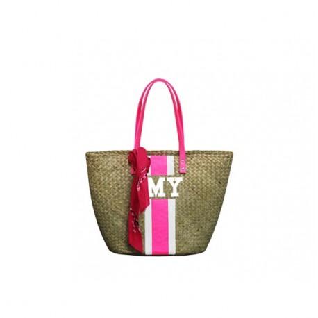 Stylová slamená taška Mia Bag
