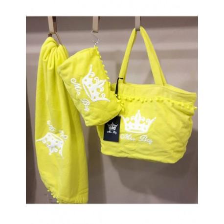 Plážový set Mia BAG - maskáčový, žlutý