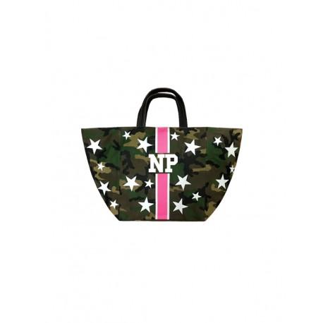 Maskáčová taška s hvězdami Mia Bag
