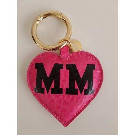 Přívěsek Mia Bag - srdíčko - růžové MM