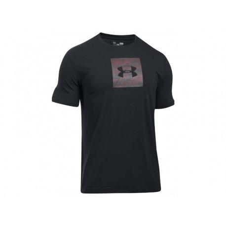 UNDER ARMOUR - Pánské triko - černé