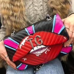MIA BAG - Dámská kabelka graffiti - různé druhy